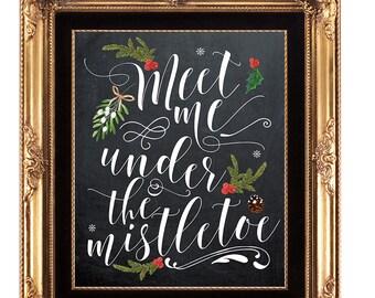 christmas printable, christmas print, printable christmas sign, holiday print, Christmas decor, chalkboard christmas, you print, 8 x 10