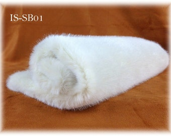 5 mm pile Italian SYNTHETIC fur plush fabric IS-SB01 (milk colour) soft dense 1/8 m realistic teddy bear making supplies