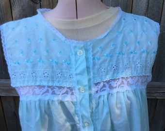 Vintage Cotton Nightgown, Great Condition ,medium