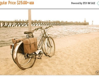 ON SALE Vintage Bicycle Photo Print, France Bicycle Prints, Bicycle Photography, Vintage Bicycle Photography, Whimsical,France Bike Photogra