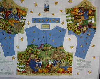 Country Woman's Fall Vest Pattern (S,M,L)