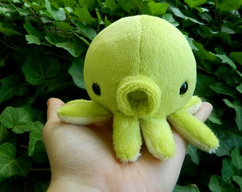 Small Green Apple Octopus Plushie