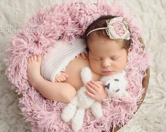 Tiny Teddy Bear, Small Teddy Bear, Newborn Stuffed Animal