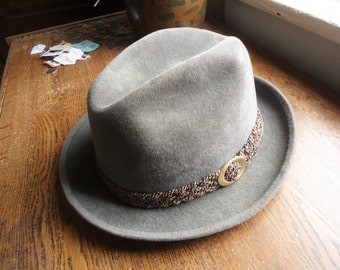 Vintage 60s The Sovereign By Stetson Fedora 7 1/4