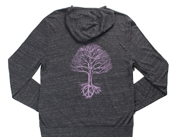 Mighty Peace Tree Zip Hoodie