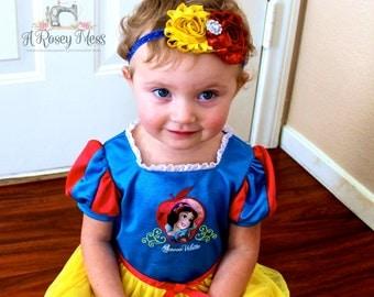 Snow White Headband- Disney Headband, Disney Inspired Headband, Snow White Birthday, Headband