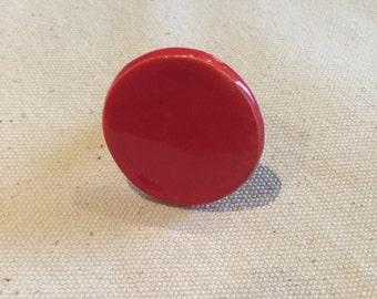 Red ceramic Ring