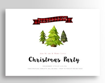 Christmas Party Invitation, Christmas Party Invites, Holiday Party Invites, Christmas Party Printable