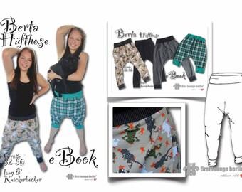 Berta *** pdf file ebook hipsters in 13 sizes 32-56, XS-XXL & sewing patterns for beginners won't - firstloungeberlin Ladies Women Girls