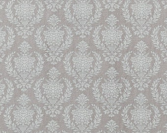 TILDA - Damask Warm Grey - 1/2 yard