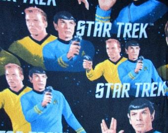 Per Yard, FLEECE Star Trek Fabric From Camelot