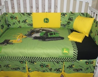 crib bedding set exclusive john deere forestry 5 piece cribtoddler bedding set
