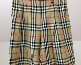 Burberry Culottes Shorts