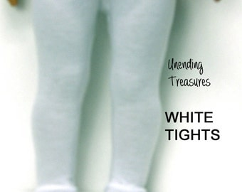 18 inch doll clothes AG doll clothes white tights