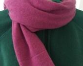 Cashmere Scarf   Purple S...
