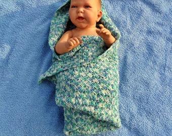babyblanket, handknitted, sockyarn, colorful, blanket, c2c blanket, corner to corner, crochet blanket, made of order