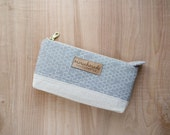 Essential Oil Travel Pouch Grey Honeycomb