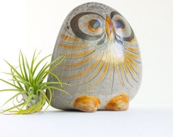 Hand Made Ceramic Owl