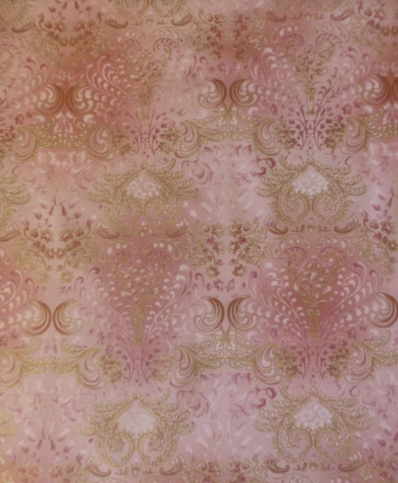 Fusions 10 Rose Modern Floralcotton Fabric Quilt Home