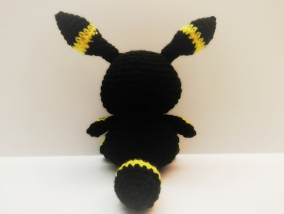 Crochet Umbreon : Crochet Umbreon Inspired Chibi Pokemon