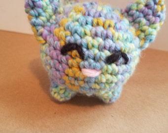 Multi-Color Cat Plush