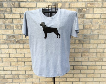 Personalized t-shirt dog silhouette choose your own dog breed