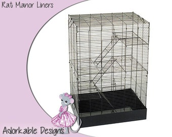 Rat Manor you and me rat cage liner mat and pad rat cage supplies pet supplies cage accessories hamster cage foot protection fleece liners