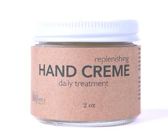 Hand Creme - Lemongrass- 100% Natural Hand Lotion