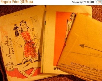 51% OFF Vintage Misses' Dress Uncut Anne Adams Mail Order Sewing Pattern 4572 Size 14 16 18 20