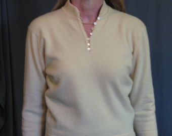 REDUCED   Vintage 1950's Lambswool & Angora Sweater
