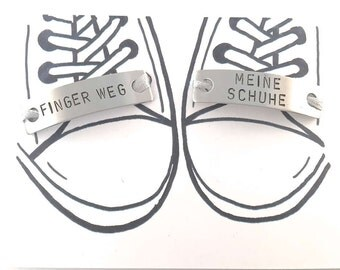 1 laces charm finger way - my shoes shoe day