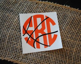 Basketball Monogram