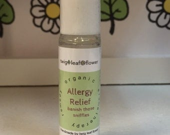 Allergy Relief Vegan Aromatherapy Remedy