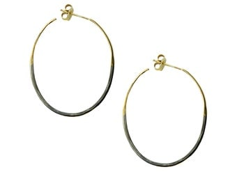 Two Tone Color Hoops