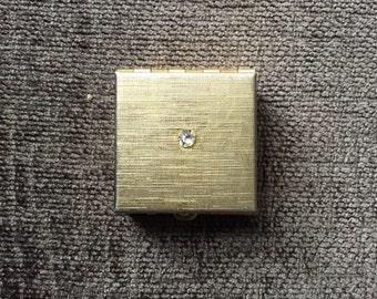 Vintage Metal Pill Box
