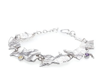 Amethyst & Citrine Faerie Tale Bracelet