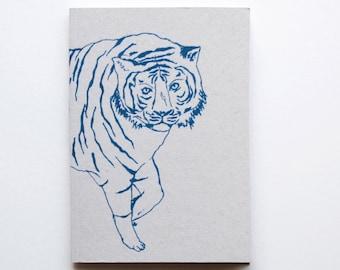 Tiger Notebook/Sketchbook A6