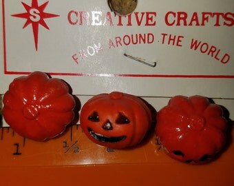 LoT 24 Vintage Miniature Pumpkins