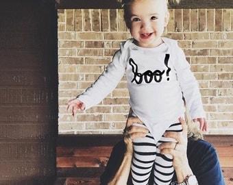 """Halloween """"Boo"""" Bodysuit"""