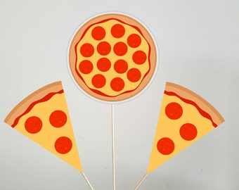 Pizza Centerpieces