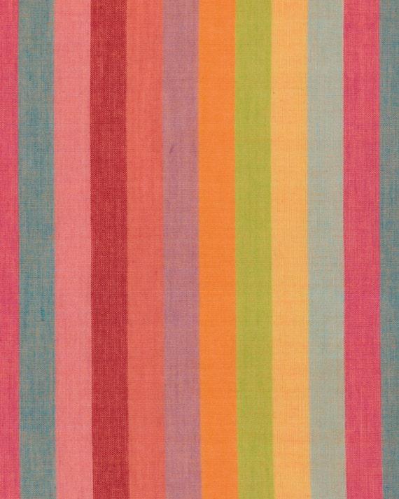 BROAD STRIPE Woven  BLISS abroad.bliss by Kaffe Fassett fabric  in 1/2 yard increments