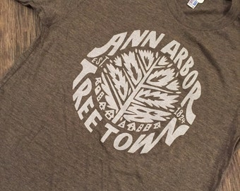 Ann Arbor Tree Town T-Shirt