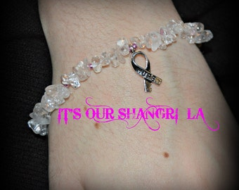 Bracelet ~ Cancer Survivor inspired Hope Bracelet