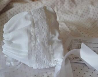 Baby Bonnet, Hankerchief Treasure Bonnet