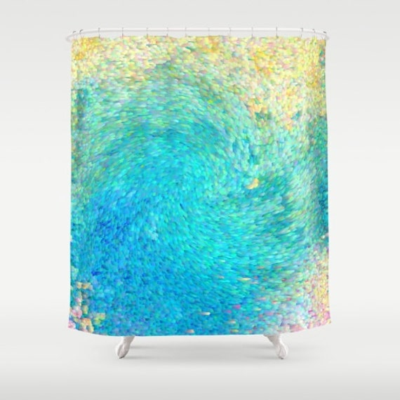 Artistic Shower Curtain Coral Reef Shower Curtain Ocean