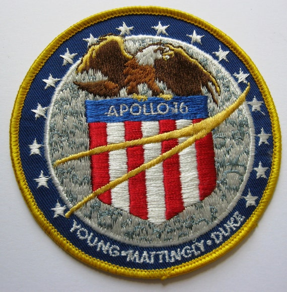 Apollo 16 Mission Space Patch