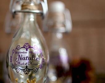 Maid of Honor/Bridesmaid wedding Potion Bottle favor 1.4 oz/40ml