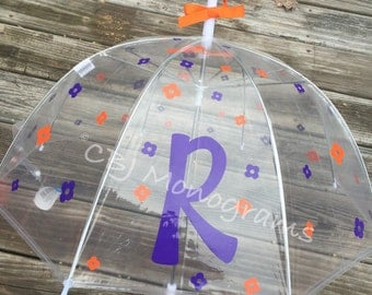 Umbrella, Easter Basket, Children's Personalized Clear Dome Umbrella, Christmas Gift, Easter Basket Gift, Birthday Gift