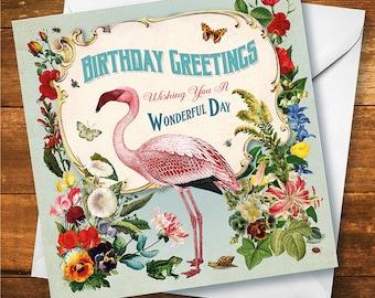 Whimsical Birthday Card