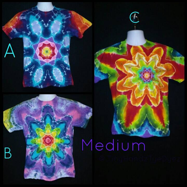 Mandala Magic Tie Dye Tshirt Flower Tye Dye Shirt Sacred